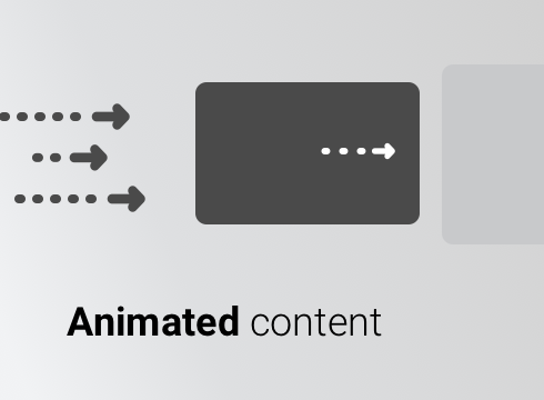 Animated Content - Adobe Muse CC Widget
