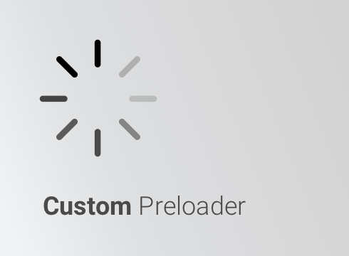 Custom Preloader - Adobe Muse CC Widget