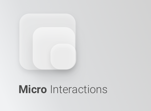 Micro Interactions - Adobe Muse CC Widget