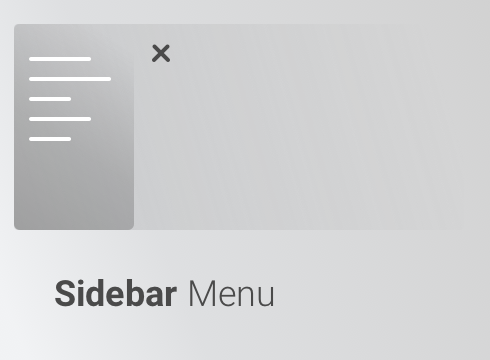 Sidebar Menu - Adobe Muse CC Widget