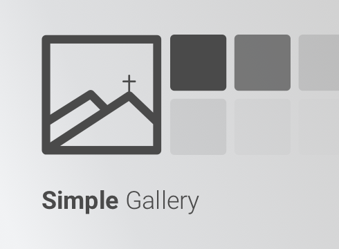 Simple Gallery - Adobe Muse CC Widget