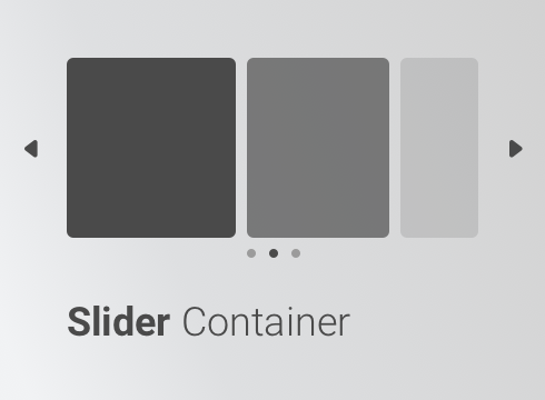 Slider Container - Adobe Muse CC Widget